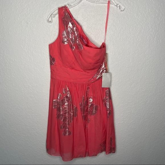 Eliza J Dresses & Skirts - Eliza J Nordstron NWT One Shoulder Coral  Dress